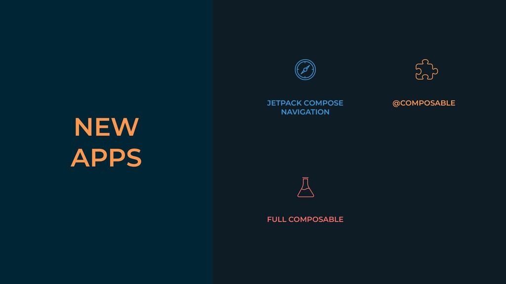 NEW APPS JETPACK COMPOSE NAVIGATION @COMPOSABLE...