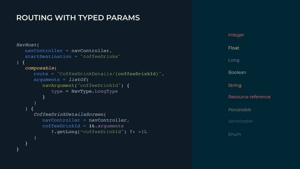 ROUTING WITH TYPED PARAMS Integer Float Long Bo...