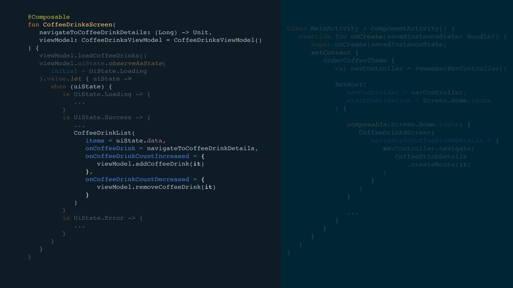class MainActivity : ComponentActivity() e  fun...
