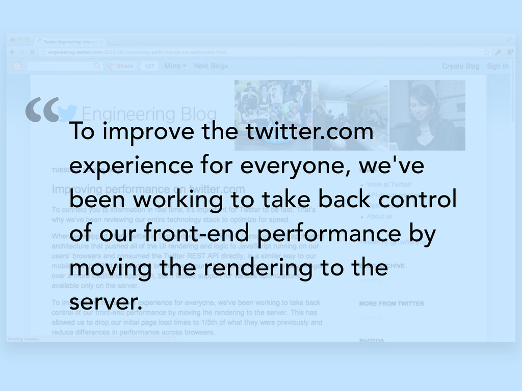 """To improve the twitter.com experience for ever..."
