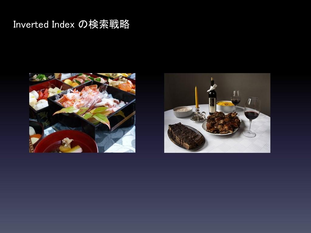 Inverted Index の検索戦略