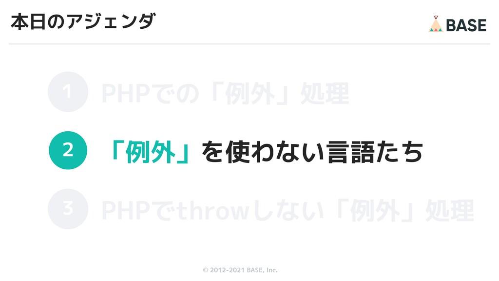 © 2012-2019 BASE, Inc. © 2012-2021 BASE, Inc. 本...