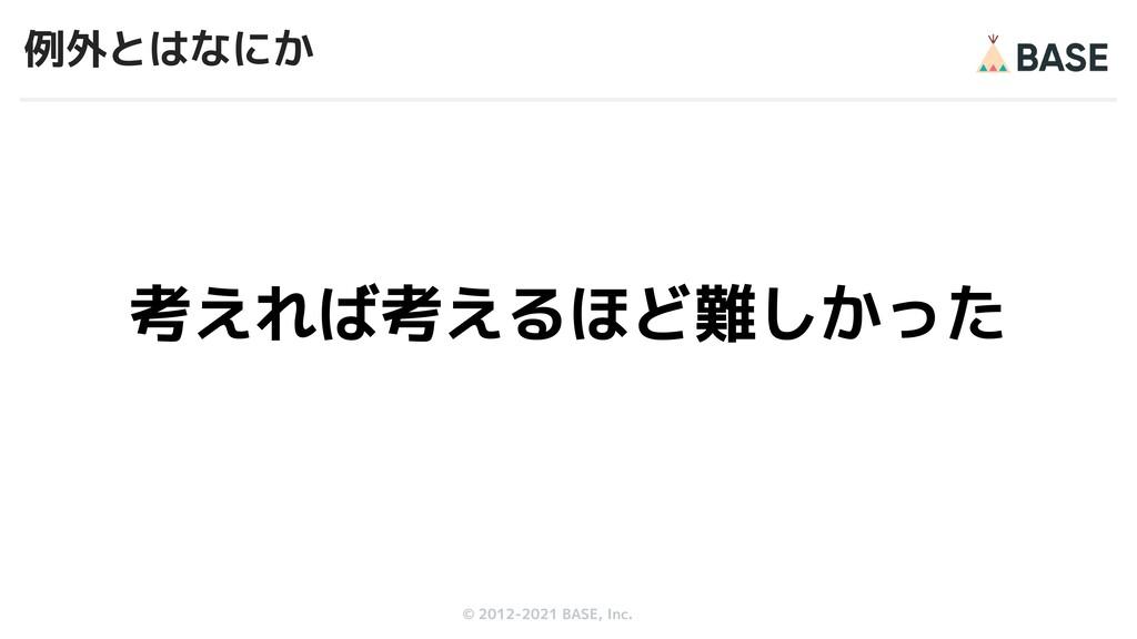 © 2012-2019 BASE, Inc. © 2012-2021 BASE, Inc. 例...