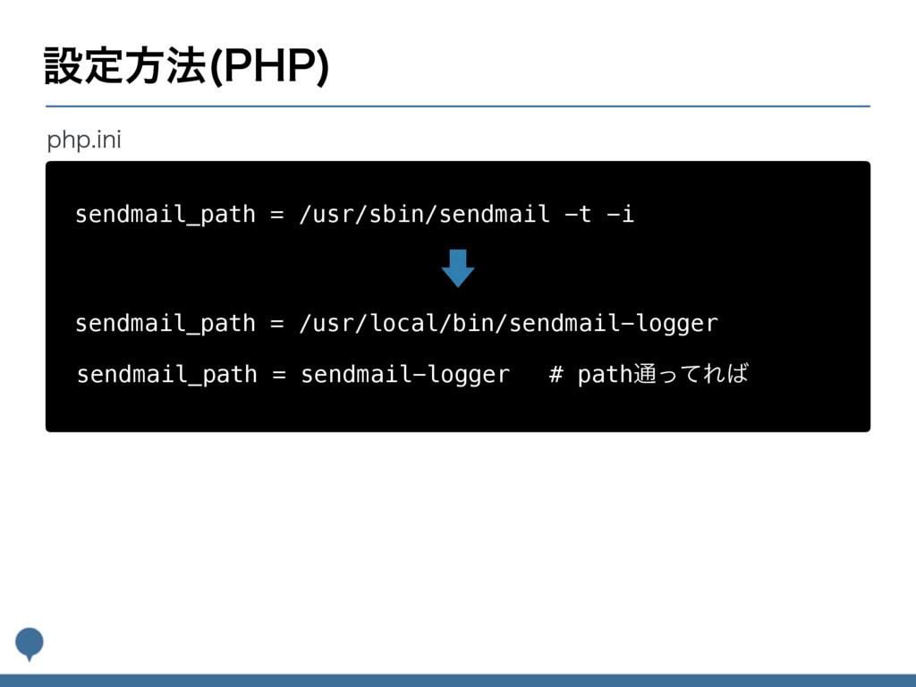 ઃఆํ๏ 1)1  sendmail_path = /usr/sbin/sendmail -t...