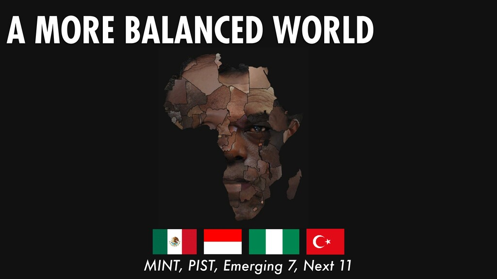 A MORE BALANCED WORLD MINT, PIST, Emerging 7, N...