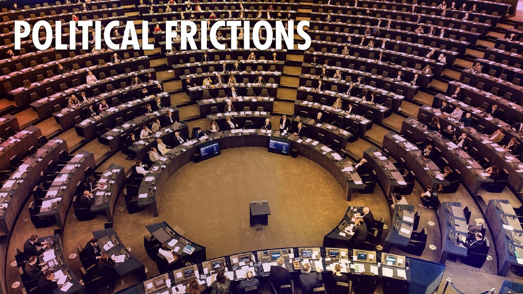 80 POLITICAL FRICTIONS