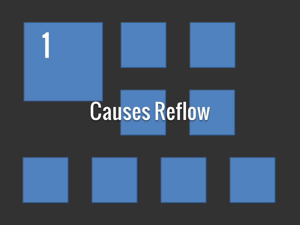 1 Causes Reflow