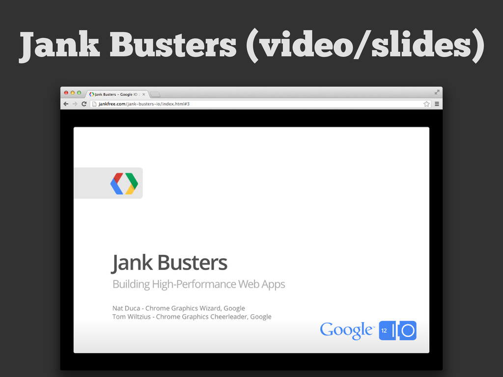 Jank Busters (video/slides)
