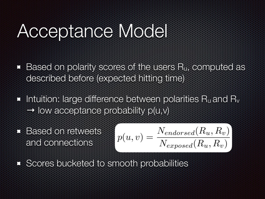 Acceptance Model Based on polarity scores of th...