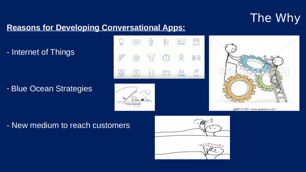 Reasons for Developing Conversational Apps: - I...