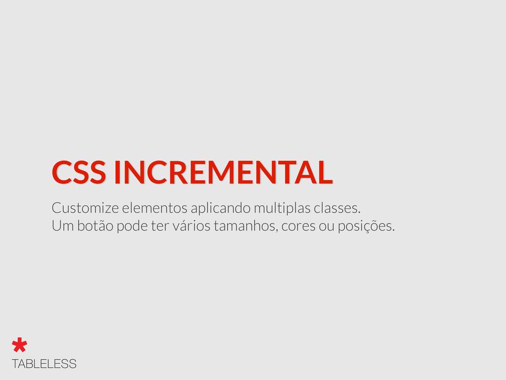 CSS INCREMENTAL Customize elementos aplicando m...