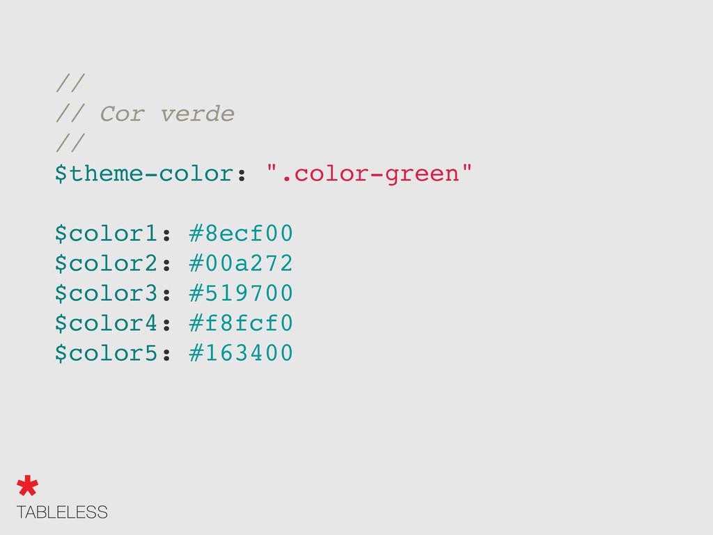 "// // Cor verde // $theme-color: "".color-green""..."