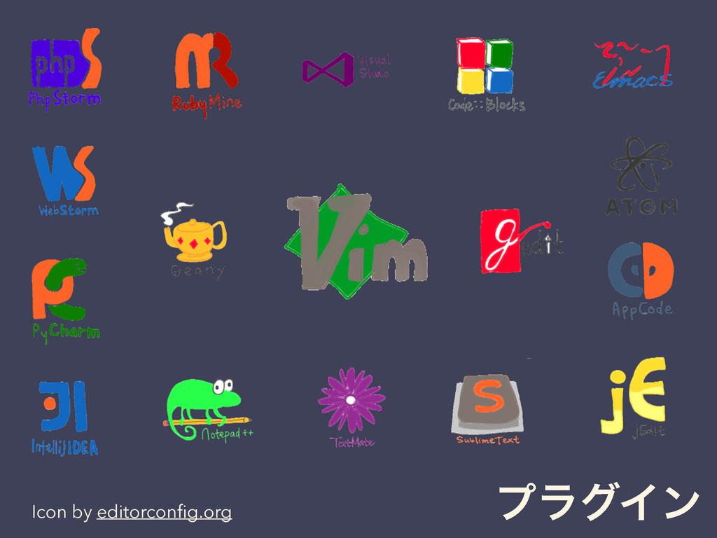 ϓϥάΠϯ Icon by editorconfig.org