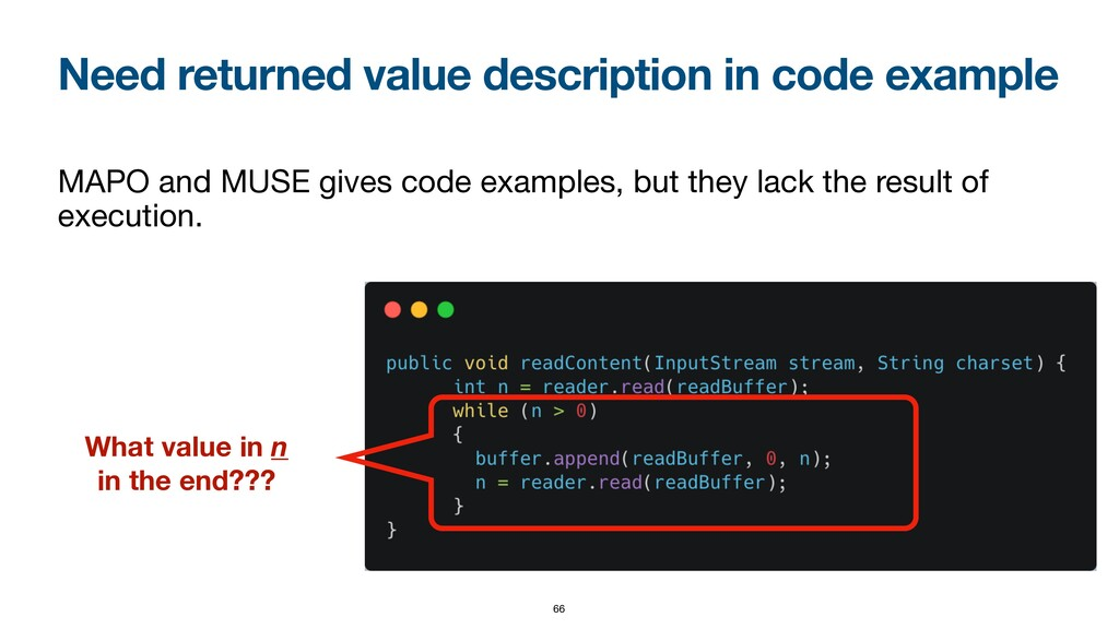 Need returned value description in code example...