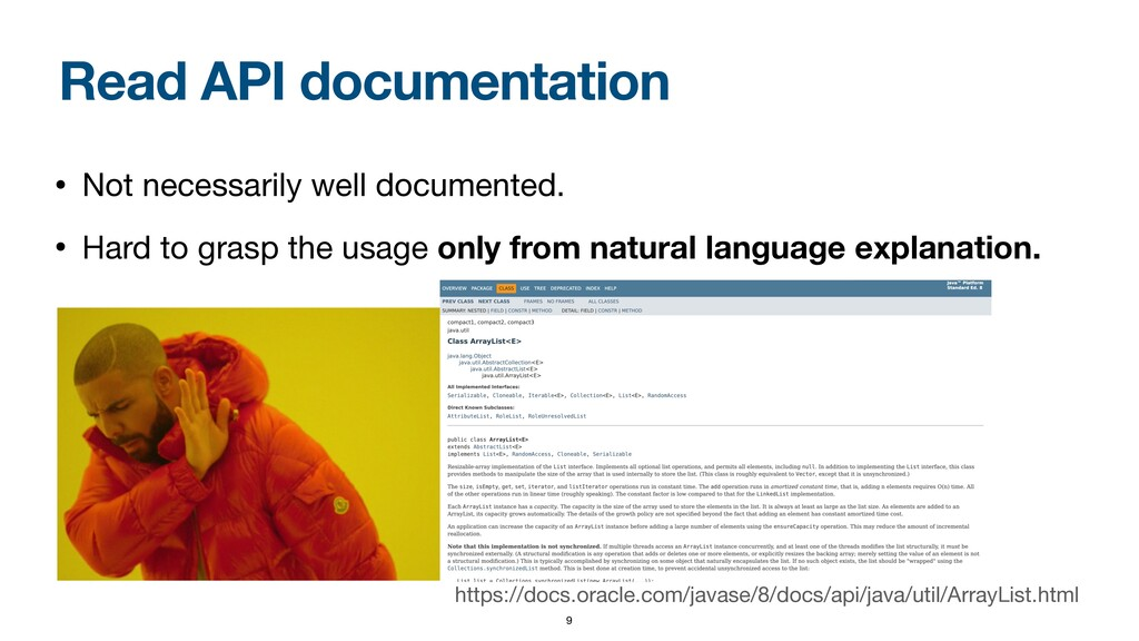 Read API documentation • Not necessarily well d...
