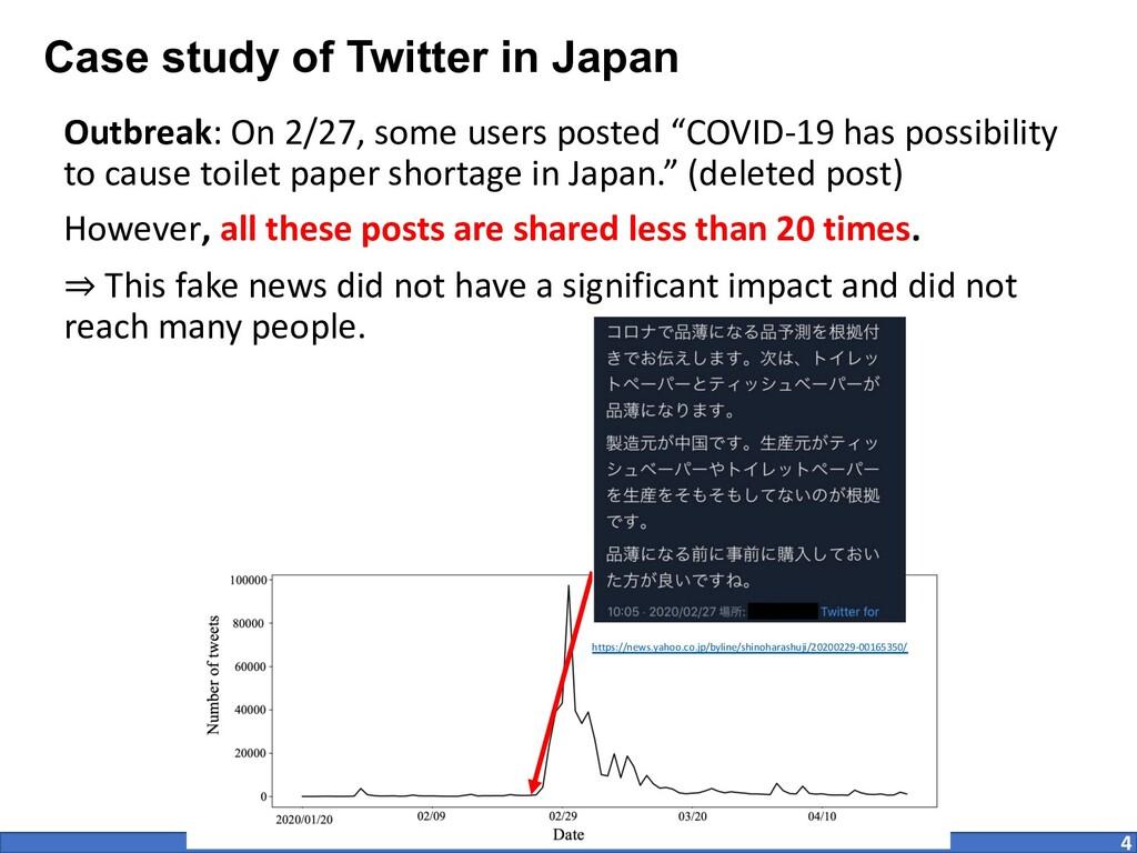 Case study of Twitter in Japan Outbreak: On 2/2...
