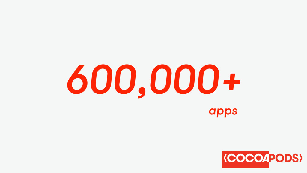 apps 600,000+