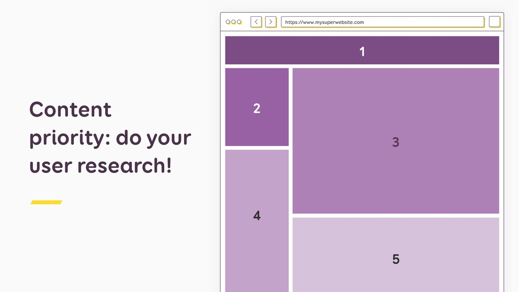 Content priority: do your user research! https:...