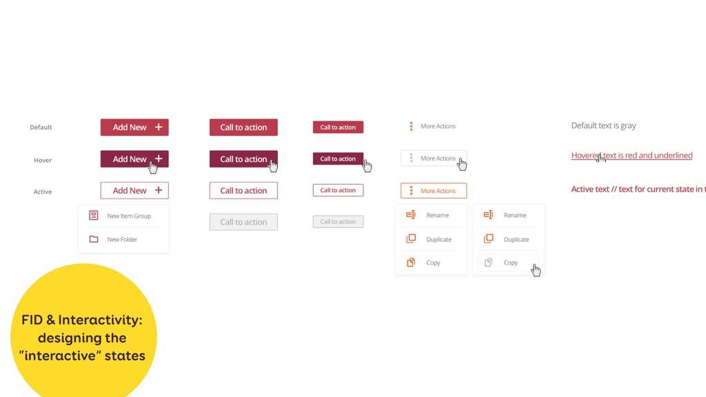 "FID & Interactivity: designing the ""interactive..."