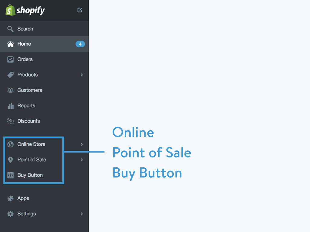 Online Point of Sale Buy Button