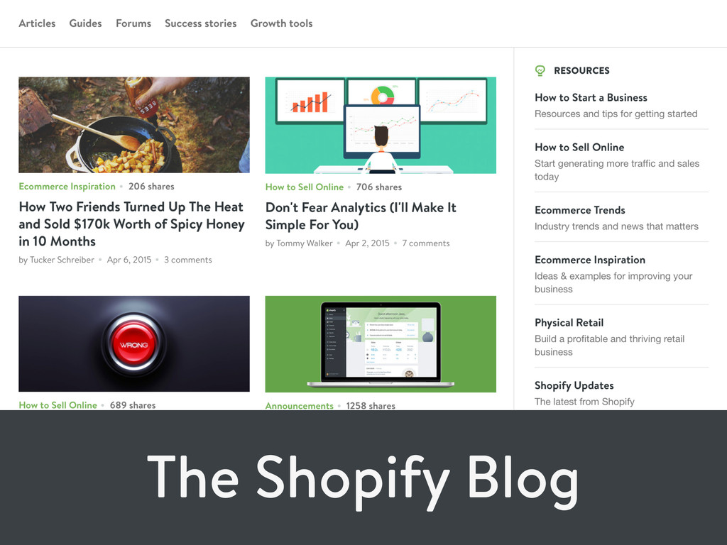 The Shopify Blog