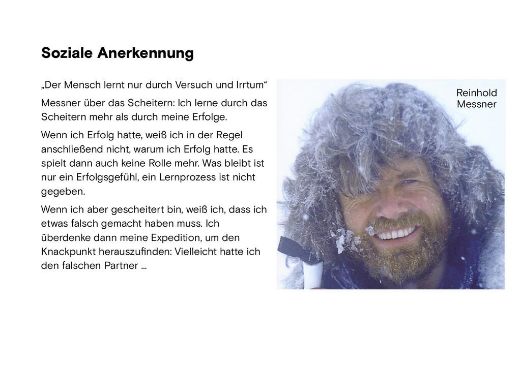 """Soziale Anerkennung Foto: wikipedia """"Der Mensch..."""