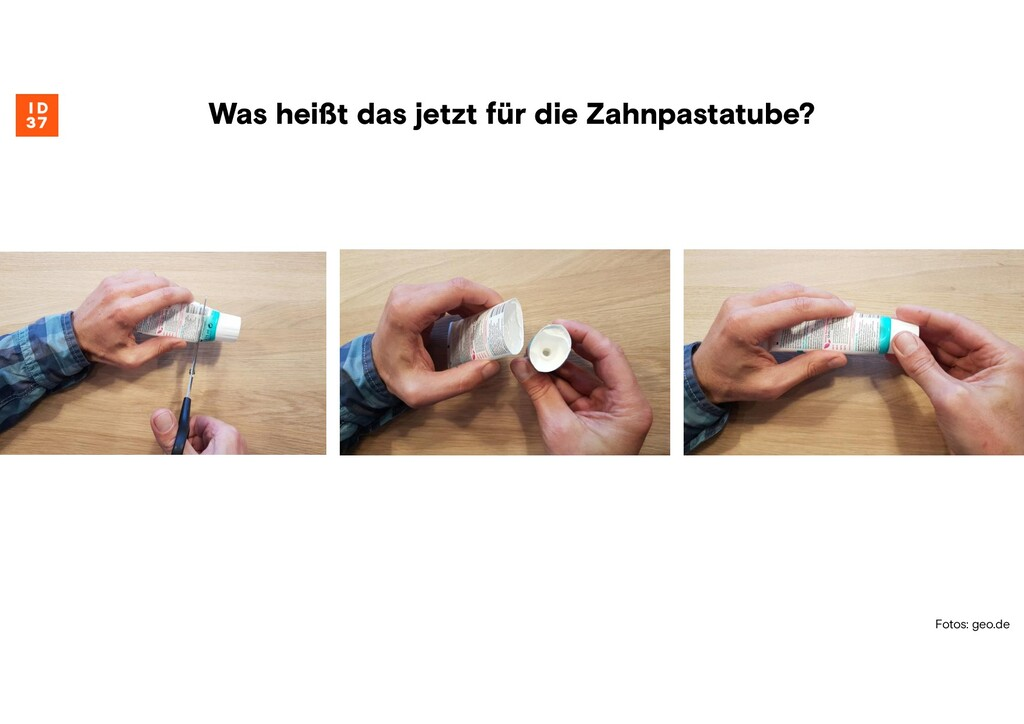 Fotos: geo.de Was heißt das jetzt für die Zahnp...