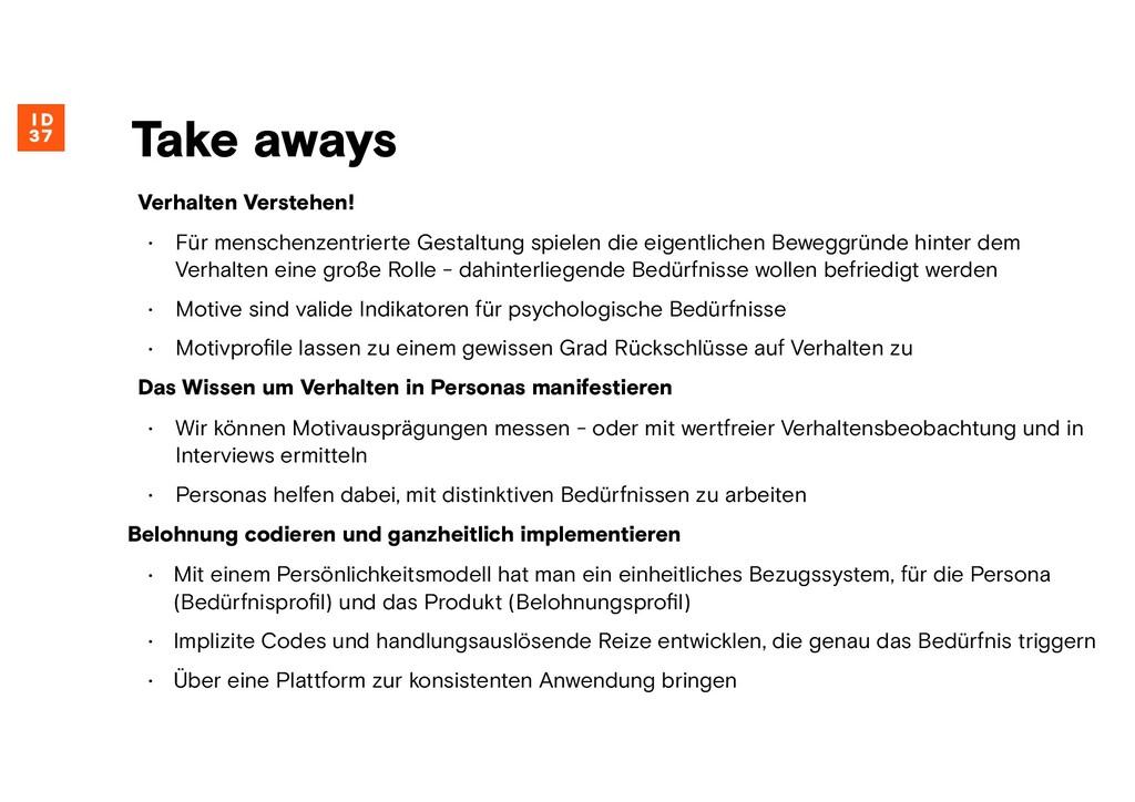 Verhalten Verstehen! • Für menschenzentrierte G...