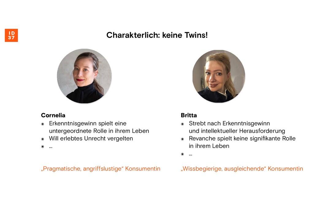 Britta ๏ Strebt nach Erkenntnisgewinn und intel...