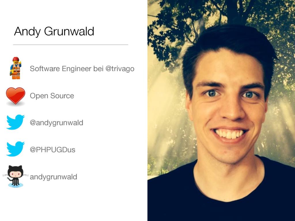 Andy Grunwald • Software Engineer bei @trivago...