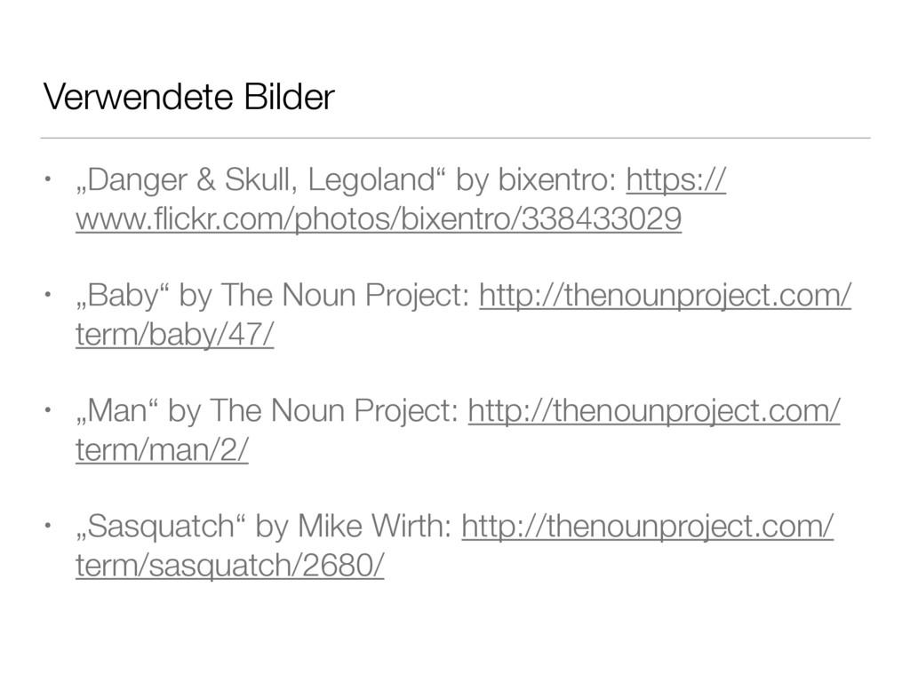 """Verwendete Bilder • """"Danger & Skull, Legoland"""" ..."""