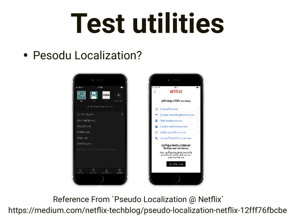 Test utilities • Pesodu Localization? https://m...