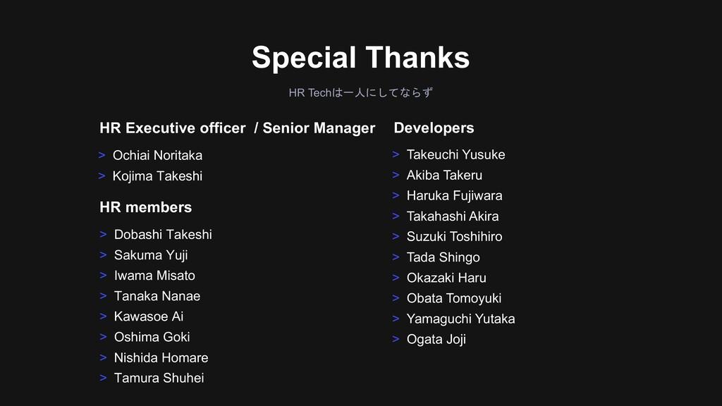 HR Tech  > Dobashi Takeshi > Sakuma Yuj...