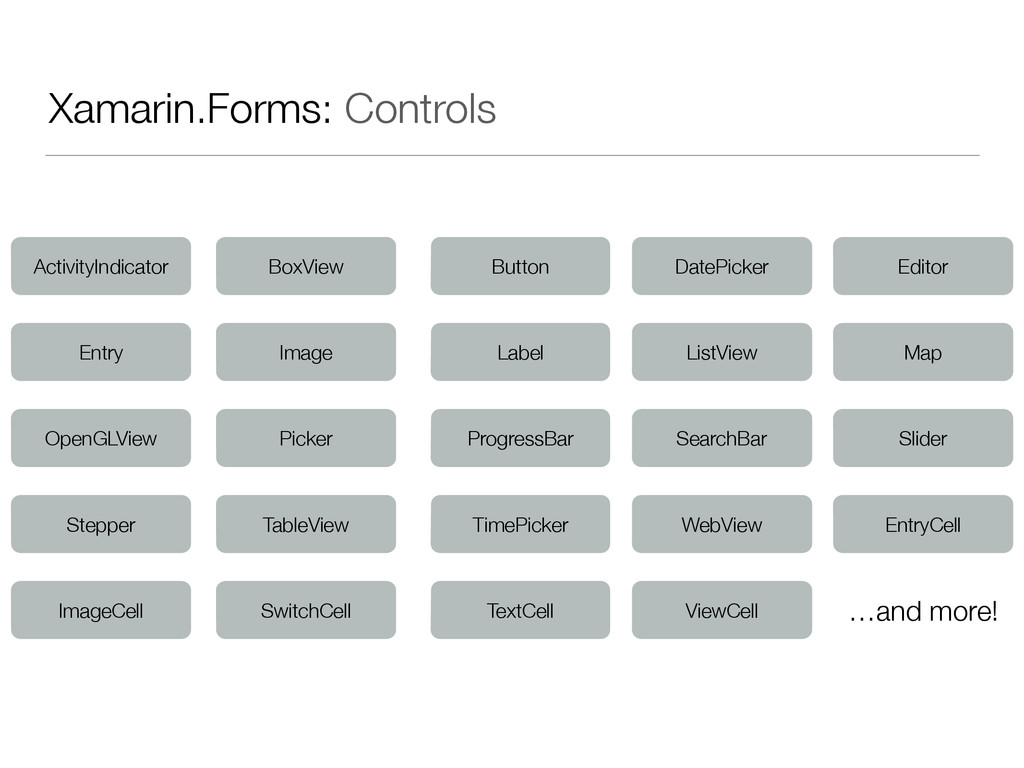 Xamarin.Forms: Controls ActivityIndicator BoxVi...