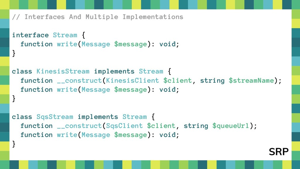 25 // Interfaces And Multiple Implementations i...