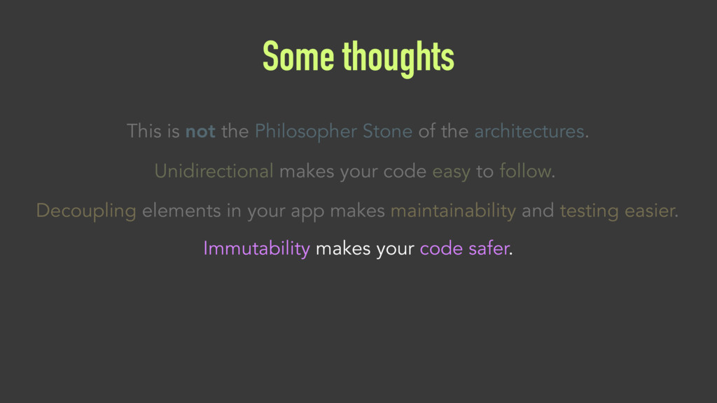 Some thoughts Decoupling elements in your app m...