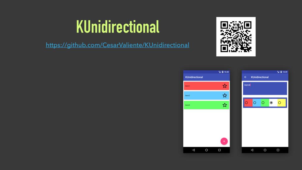 KUnidirectional https://github.com/CesarValient...