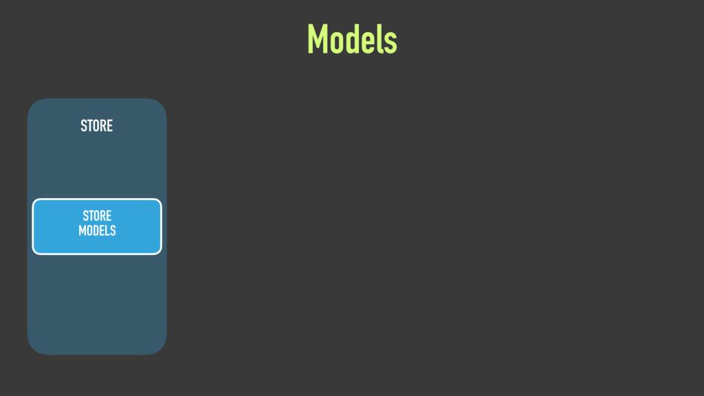 STORE STORE MODELS Models