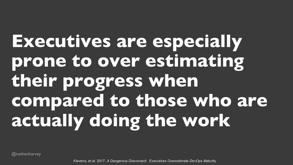 Executives are especially prone to over estimat...