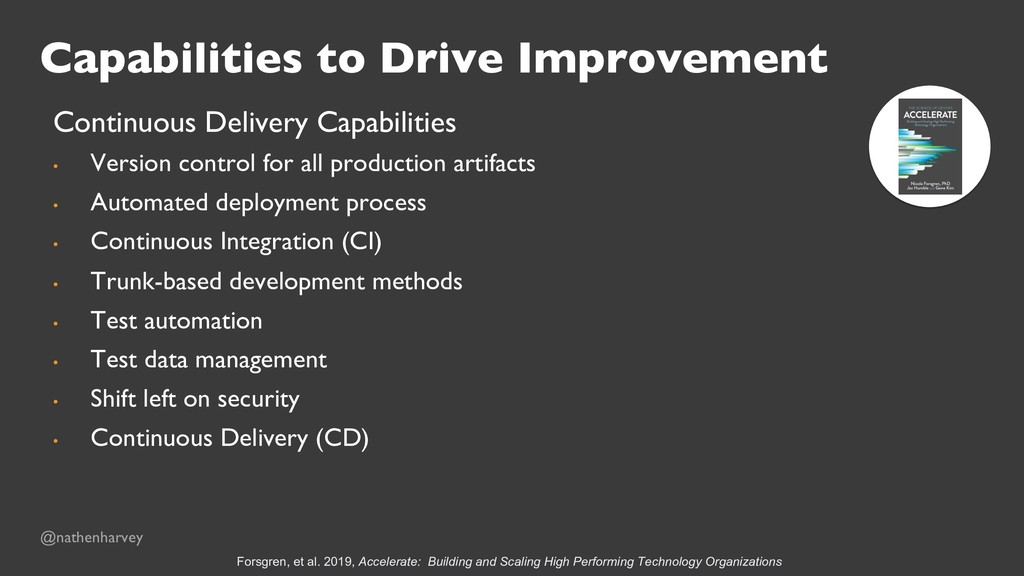 Capabilities to Drive Improvement Continuous De...