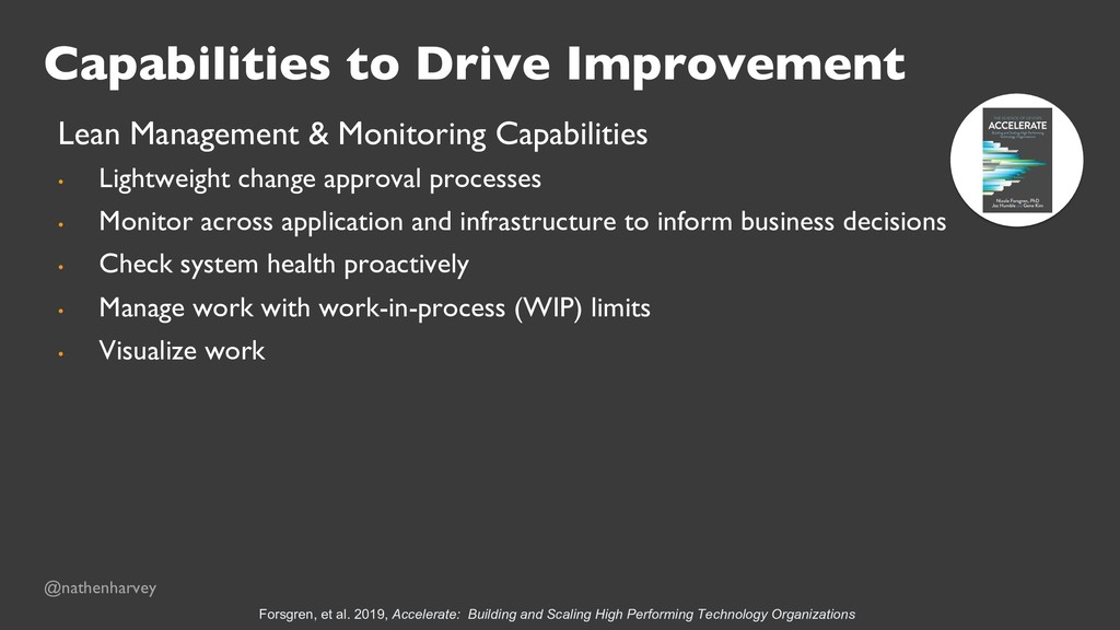 Capabilities to Drive Improvement Lean Manageme...