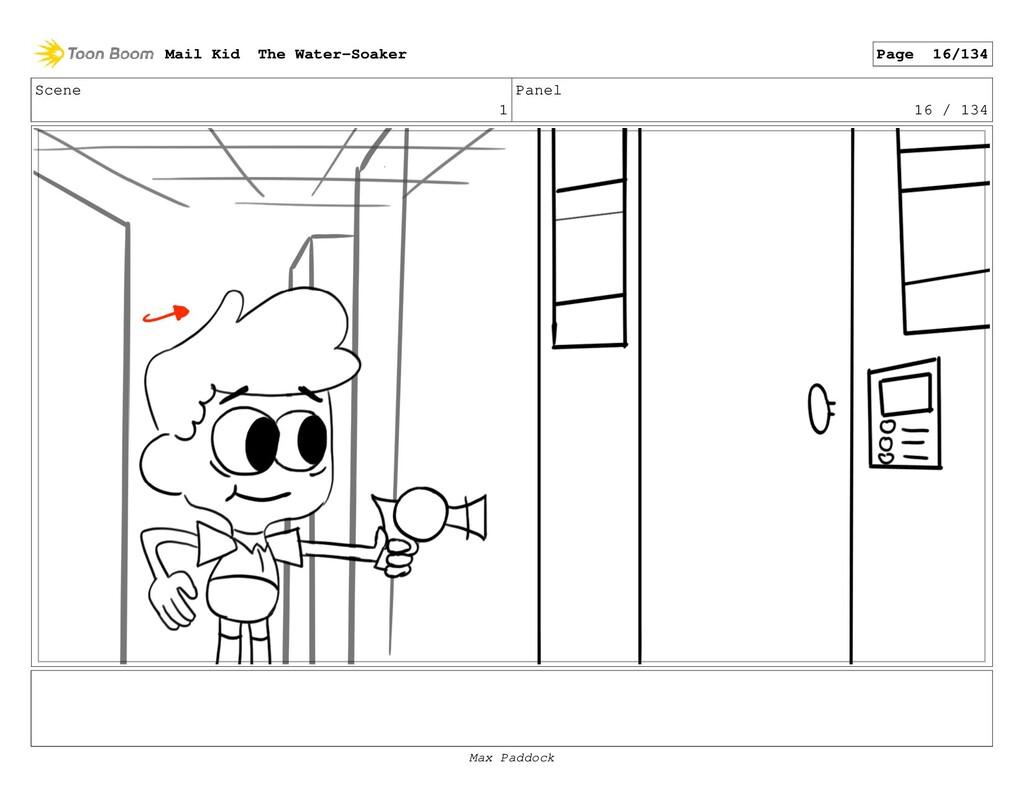 Scene 1 Panel 16 / 134 Mail Kid The Water-Soake...