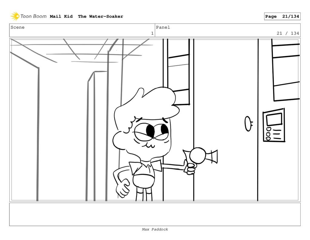Scene 1 Panel 21 / 134 Mail Kid The Water-Soake...