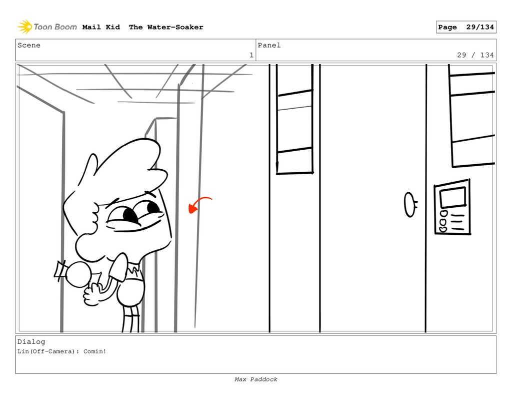 Scene 1 Panel 29 / 134 Dialog Lin(Off-Camera): ...