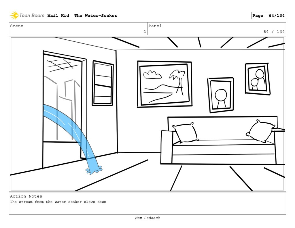 Scene 1 Panel 64 / 134 Action Notes The stream ...