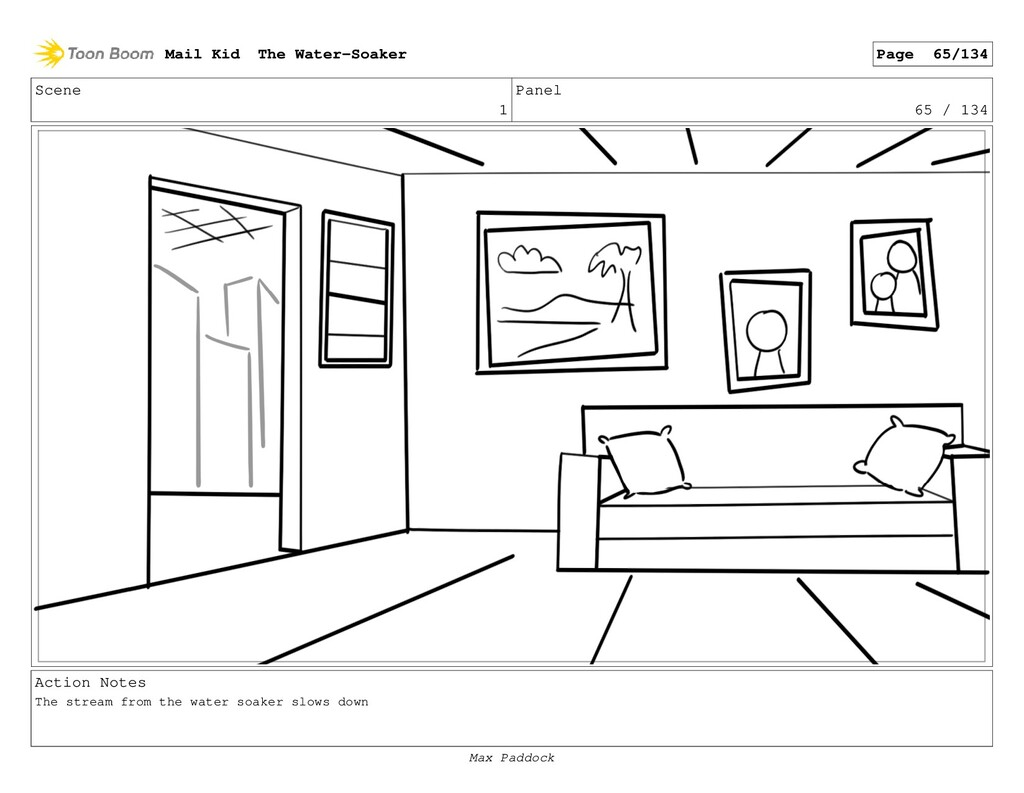 Scene 1 Panel 65 / 134 Action Notes The stream ...