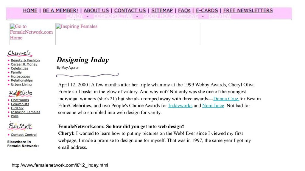 http://www.femalenetwork.com/if/12_inday.html D...