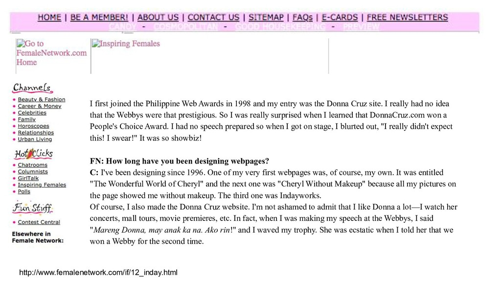http://www.femalenetwork.com/if/12_inday.html I...