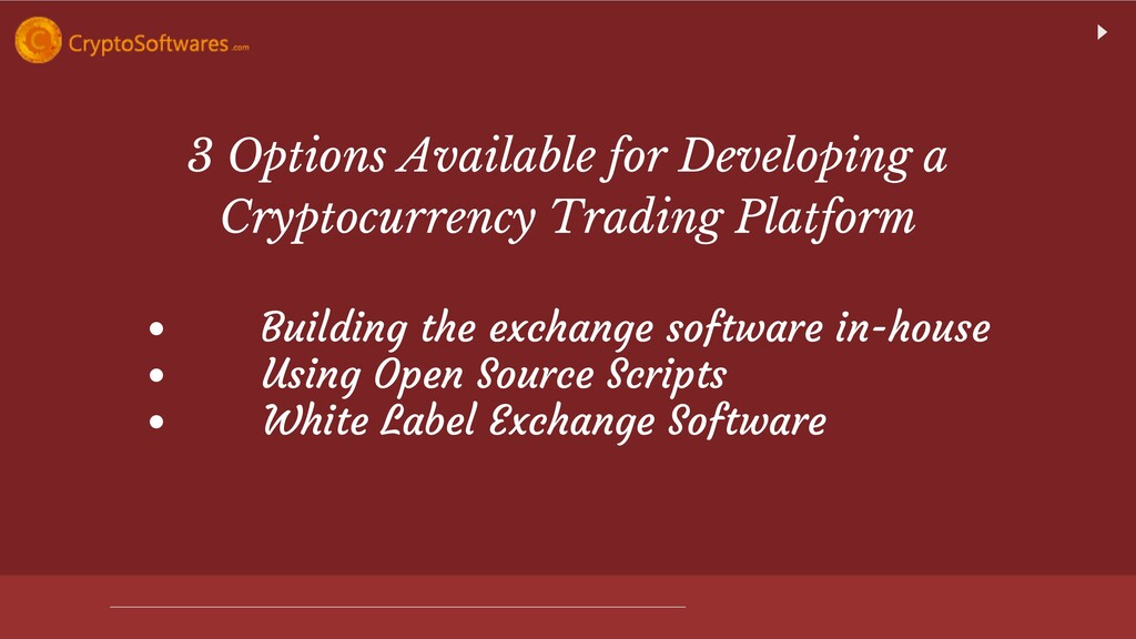 3 Options Available for Developing a Cryptocurr...