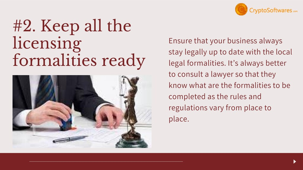 Ensure that your business always stay legally u...